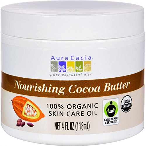 Aura Cacia Natural Cocoa Butter Light Chocolate 120 ml by Aura -