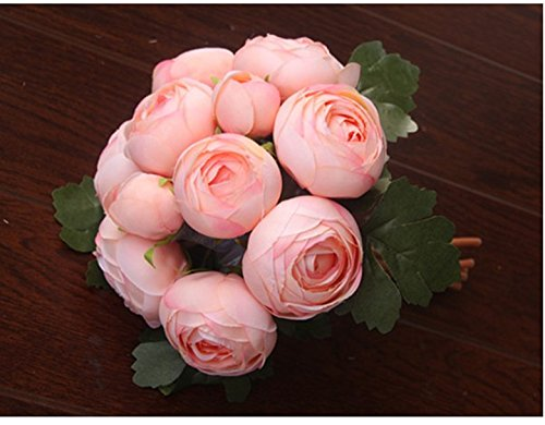 Jili-Online-Artificial-Silk-Camellia-Flower-Bridal-Wedding-Party-Handtied-Bouquet-Real-Touch-Foral