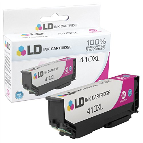 LD © Remanufactured Epson 410 / 410XL / T410XL320 High Yield Magenta Ink Cartridge for use in Expression XP-530, Expression XP-630, Expression XP-635, Expression XP-640 & Expression XP-830