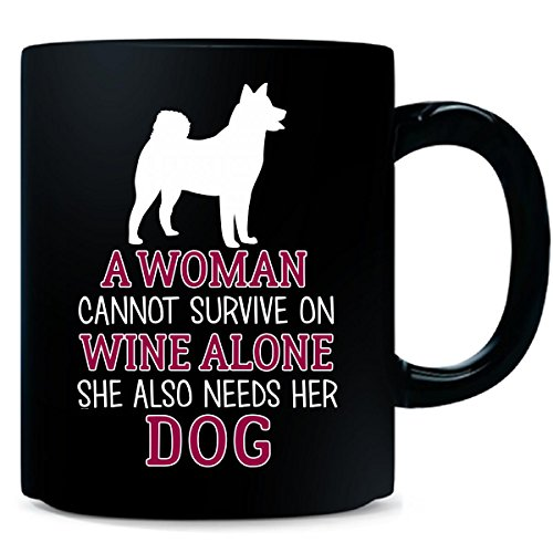 Alaskan Malamute Dog Or Wine Lover Gifts Present - Mug