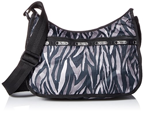 Zebra Print Hobo (LeSportsac Classic Hobo Handbag, Wild Zebra, One)