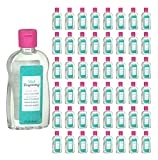 (50 Pack) Well Beginnings Baby Oil Hypoallergenic Moisturizing Travel Size 3oz