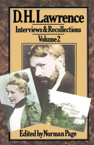 (D. H. Lawrence (Interviews and Recollections))