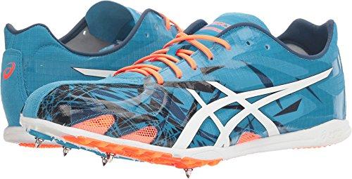 ASICS Gunlap Track Shoe, Island Blue/White/Hot Orange, 9 M US