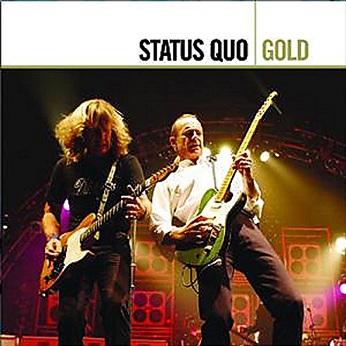 CD : Status Quo - Gold (Holland - Import, 2 Disc)