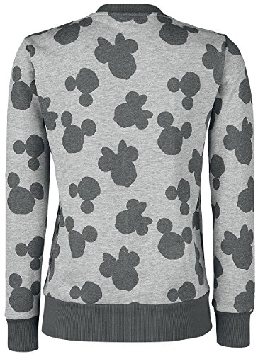 Mouse chin All Over amp; Veste Mickey Femme Minnie Gris Eq8RxF