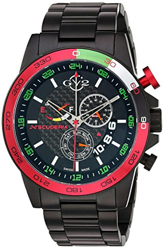 GV2-by-Gevril-Mens-9907-Scuderia-Analog-Display-Quartz-Black-Watch