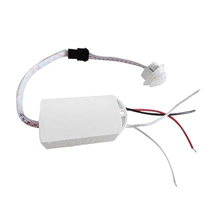 Interruptor, Ir Módulo infrarrojo Sensor del cuerpo Luz inteligente Interruptor con sensor de movimiento Alta