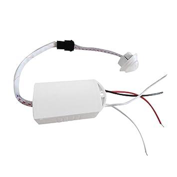 Interruptor, Ir Módulo infrarrojo Sensor del cuerpo Luz inteligente Interruptor con sensor de movimiento Alta calidad 200 W 220 V Sensor del cuerpo ...
