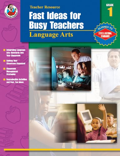 Download Fast Ideas for Busy Teachers: Language Arts, Grade 1 PDF