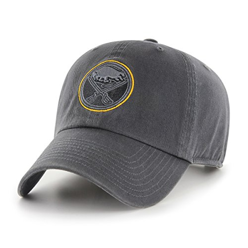 finest selection 7ac10 e04cc NHL Buffalo Sabres Male OTS Challenger Adjustable Hat, Dark Charcoal, One  Size
