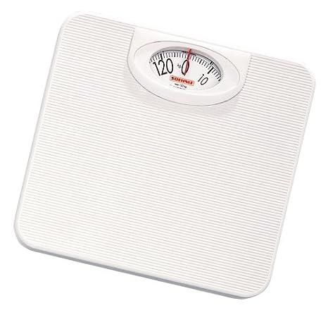 Soehnle 61152 - Báscula analógica, color blanco: Amazon.es: Salud y cuidado personal