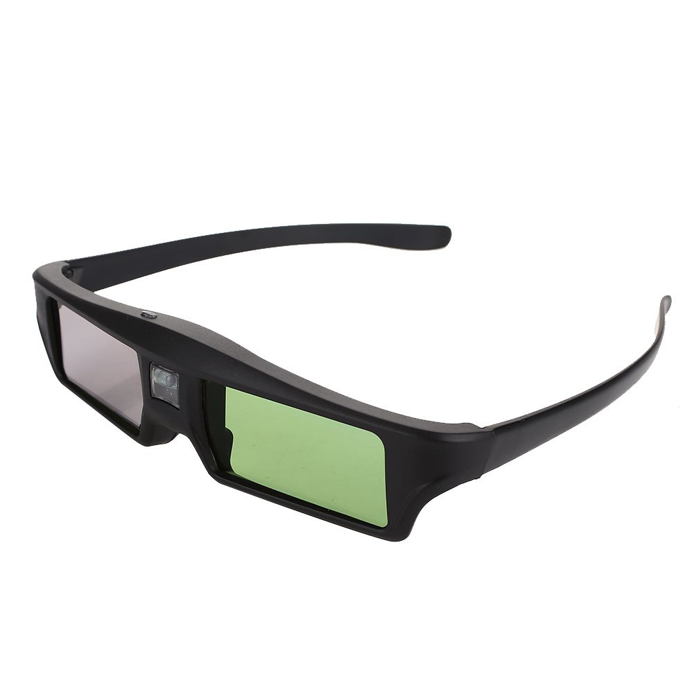 Portable Shutter Glasses 3D TV Glasses for Mini LCD Lens 8M Lens Projector