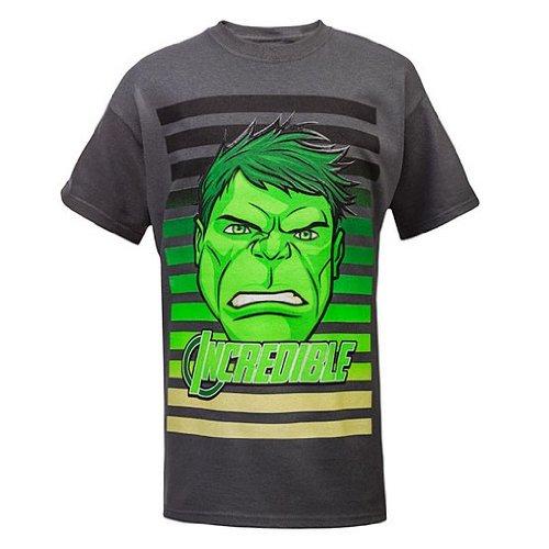 a bambini Hulk Abc Superhero per righe shirt Grand T qnU4wP1B