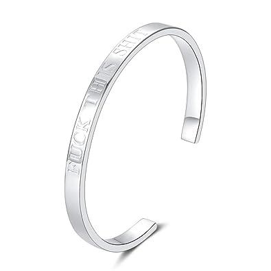 0f1ef6cd5b9 Merit Ocean 925 Sterling Silver Bangle Bracelet