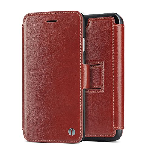 1byone Genuine Leather Wallet iPhone