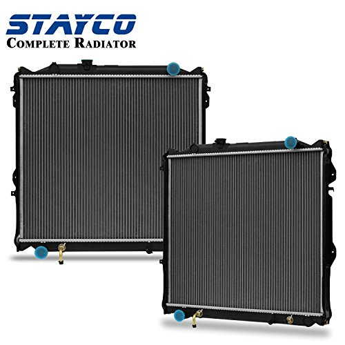 CU1998 Radiator Replacement for Toyota 4Runner Base V6 3.4L/L4 2.7L 1996 1997 1998 1999 2000 2001 2002