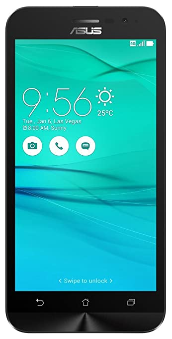 Asus Zenfone Go 5.0 LTE 2nd Gen (Black, 16 GB) (2 GB RAM) Smartphones at amazon