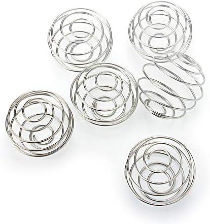 Stainless Steel Bottle Mixer Ball Spring Ball Blender Whisk For Shake Cup Fablcrew