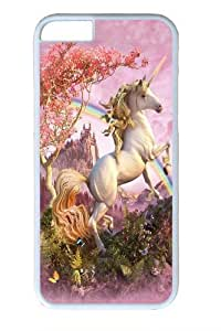 Awesome Unicorn Polycarbonate Hard Case Cover for iphone 6 plus 5.5 inch White in GUO Shop