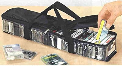 Cassette Storage Carry Case - Stores Up To 31 Cassettes! by CASSETTE CARRY STORAGE CASE