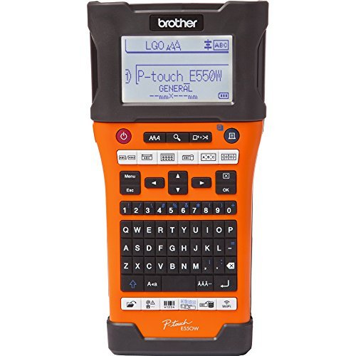 Brother P-touch EDGE PT-E550W Electronic Label Maker PTE5...