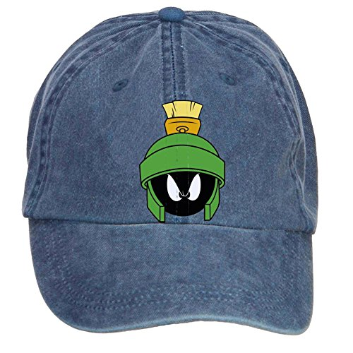 Tommery Unisex Marvin The Martian Head Hip Hop Baseball - Shop Motorcycle Kennedys