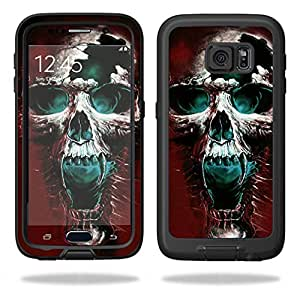 MightySkins Protective Vinyl Skin Decal for LifeProof Samsung Galaxy S6 Case fre wrap cover sticker skins Wicked Skull