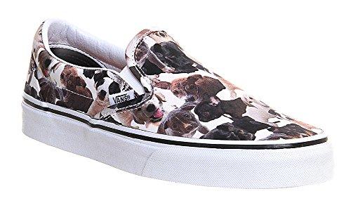 U Weiß White Erwachsene dogs nbsp;Sneaker nbsp;– Vans ca Unisex CLASSIC Low dHZHq