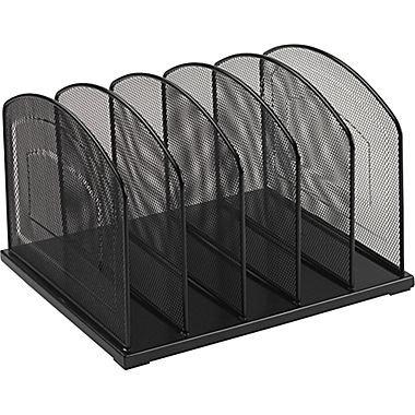 staples-black-wire-mesh-5-slot-vertical-sorter