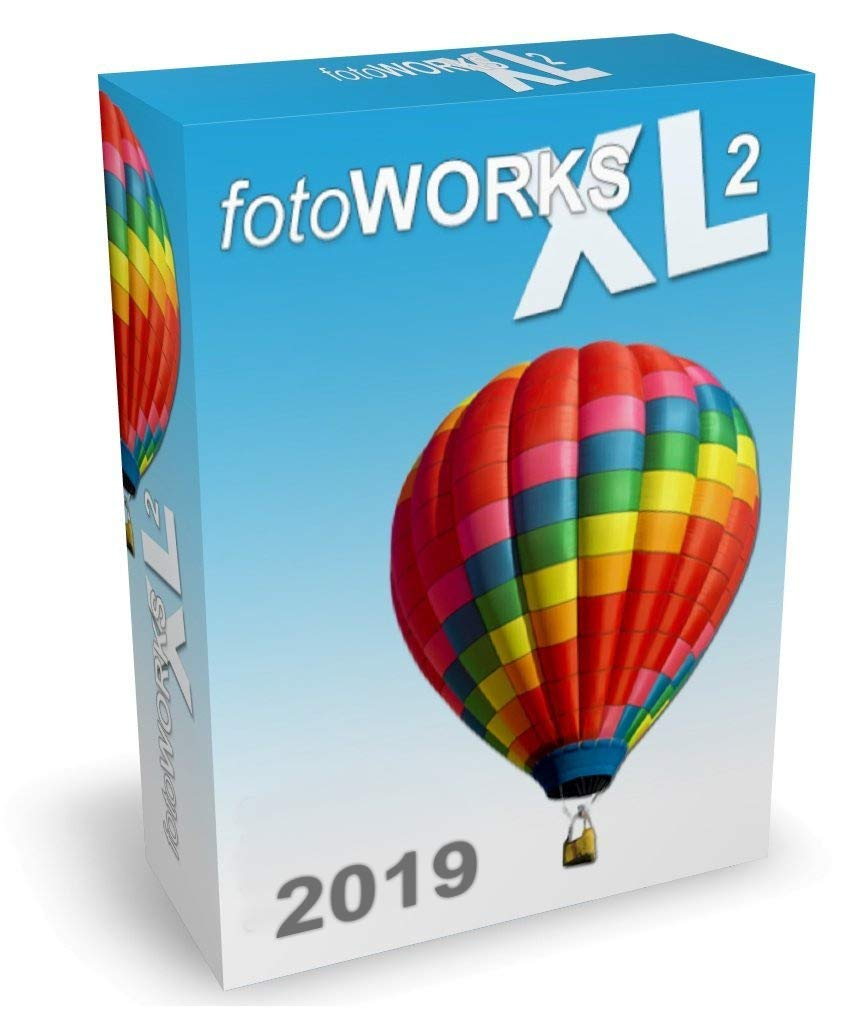 FotoWorks XL 2019 Version - Photo Editing Software for Windows 10, 7 and 8 - Very easy to use by IN MEDIAKG TI
