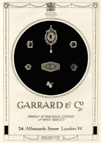 pearls-precious-stones-in-1920-garrard-co-ltd-ad-original-paper-ephemera-authentic-vintage-print-mag