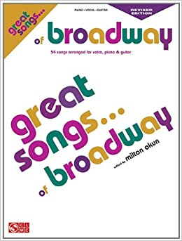 Great Songs of BroadwayEdition