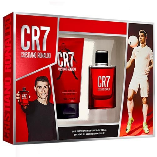 CR7 Gift Set - Eau de Toilette + Shower Gel Cristiano Ronaldo CR770034