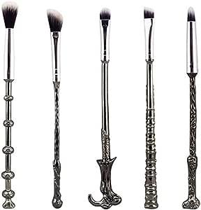 Wizard Wand Brushes,WeChip 5 PCS Potter Makeup Brush Set