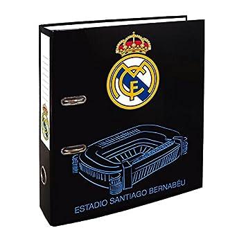 Archivador de palanca Real Madrid ancho 7 cm: Amazon.es: Oficina y papelería