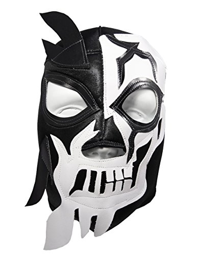 HALLOWEEN SKULL Lucha Libre Wrestling Mask (pro-fit) Costume Wear -