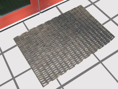 Recycled Rubber Tire Link Mats 36'' x 72''