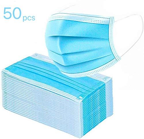 QING® Mascarillas quirúrgicas estándar 1 paquete-Bolsas selladas-Mascarillas-Mascarillas médicas, Mascarillas quirúrgicas, Mascarillas contra la gripe(50 tabletas?