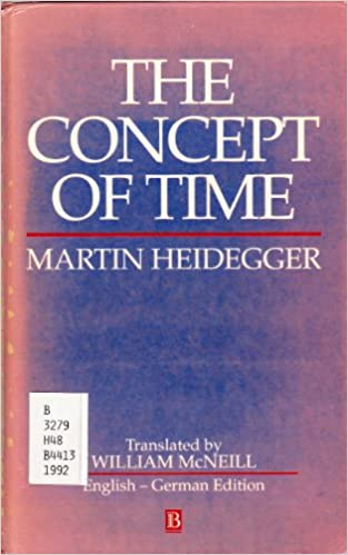 Book The Concept of Time