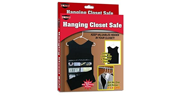 Lovely Amazon.com: Hanging Closet Safe Hides Valuables Hidden Tank Top Dress  Secret Shirt Suit NEW: Home U0026 Kitchen