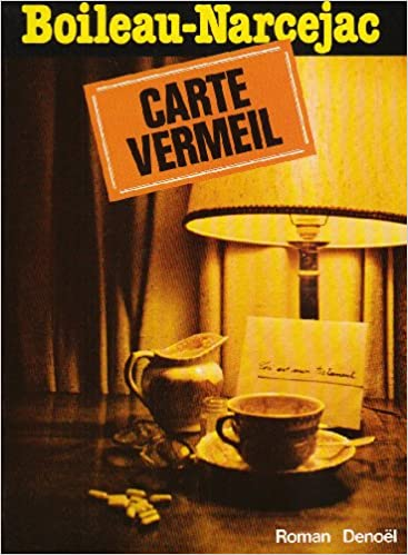Photo Carte Vermeil.Amazon In Buy Carte Vermeil Book Online At Low Prices In