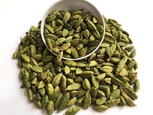 Natural Green Whole Cardamom Pods (elaichi, elachi, hal) - 7 Oz, 200g. by Ganeshaspice by GaneshaSpice (Image #1)