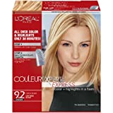 L'Oreal Paris Couleur Experte Express Hair Color, 9.2 Light Beige Blonde/Creme Brulee