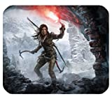 Rise Of The Tomb Raider Mousepad Personalized Custom Mouse Pad Oblong Shaped In 9.84