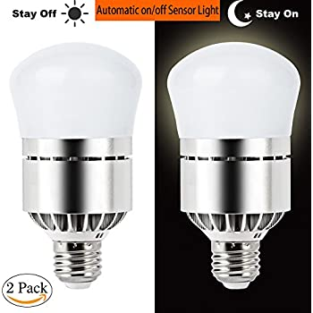 Aukora Dusk To Dawn Led Bulb 7w E26 E27 Sensor Light