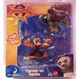 Fisher Price Kung Fu Panda 2 Tigress and Gorilla Warrior Figure Pack