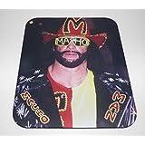 RANDY MACHO MAN SAVAGE COMPUTER MOUSEPAD Wrestling