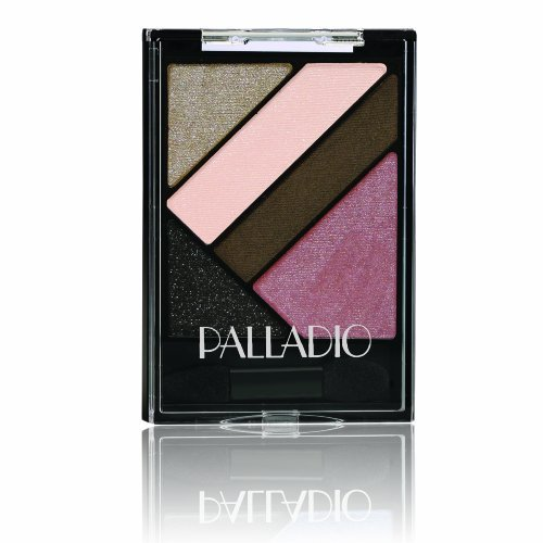 (Palladio Silk FX Eyeshadow Palette, Burlesque, 0.09 Ounce by Palladio)