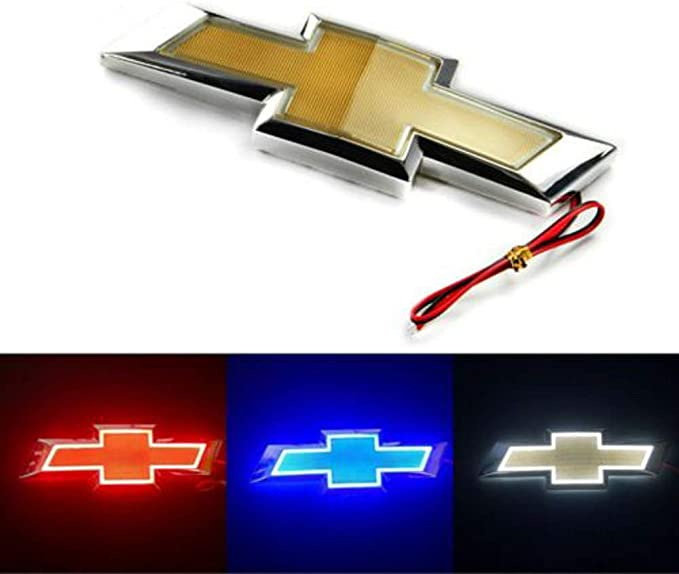 3D LED Car Tail Logo Auto Badge Light White Light for Chevrolet// Holden Cruze